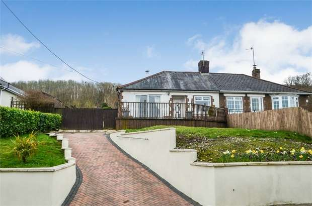 3 Bedrooms Semi Detached Bungalow for sale in Halls Road, Newbridge, Newport, Caerphilly