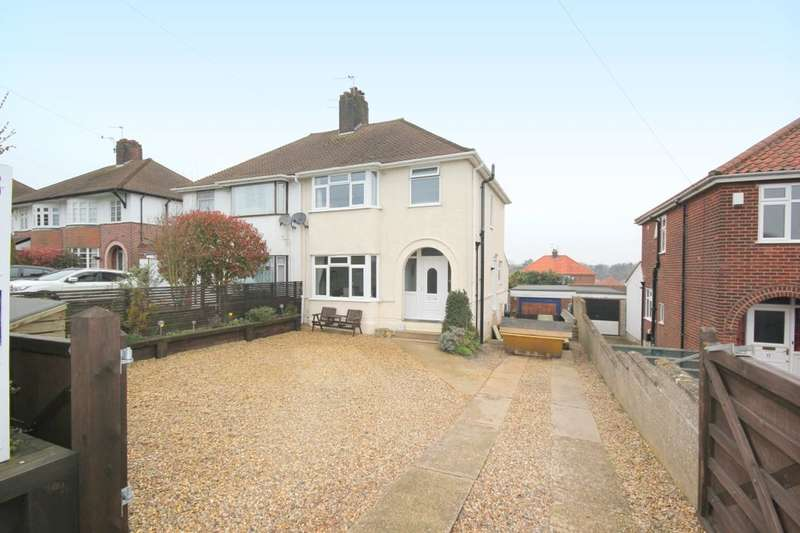 3 Bedrooms Semi Detached House for sale in Plumstead Road East, Thorpe St Andrew , Norwich, NR7