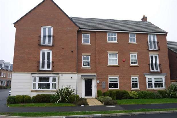 2 Bedrooms Flat for sale in Angell Drive, Market Harborough, Leicestershire