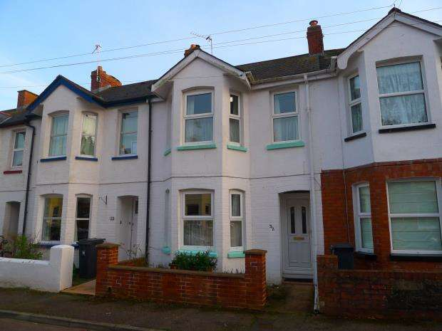 3 Bedrooms Terraced House for sale in Lymebourne Avenue, Sidmouth, Devon