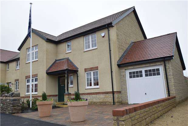 4 Bedrooms Property for sale in The Alcombe Show Home, The Chestnuts, WINSCOMBE, Somerset, BS25 1LD