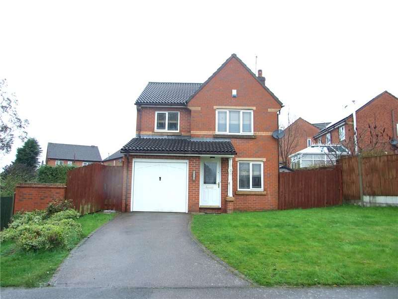 3 Bedrooms Detached House for sale in Long Sleets, Broadmeadows, Alfreton, Derbyshire, DE55