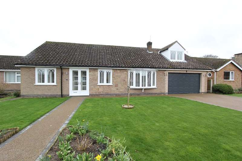 5 Bedrooms Detached Bungalow for sale in St. Edwards Drive, Sudbrooke, Lincoln, Lincolnshire, LN2 2QR