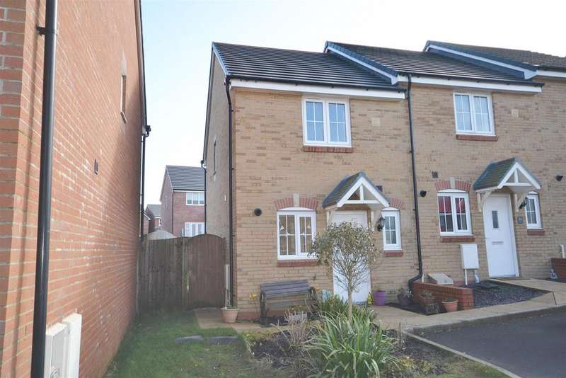 2 Bedrooms End Of Terrace House for sale in Heol Waungron, Carway, Kidwelly