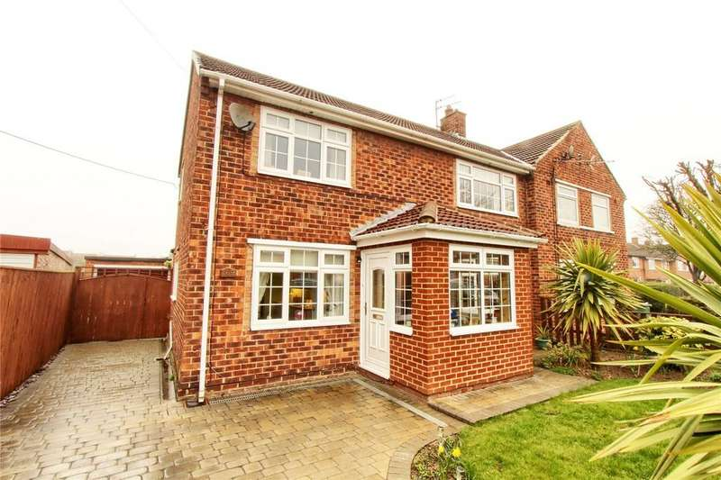 3 Bedrooms Semi Detached House for sale in Braemar Road, Billingham