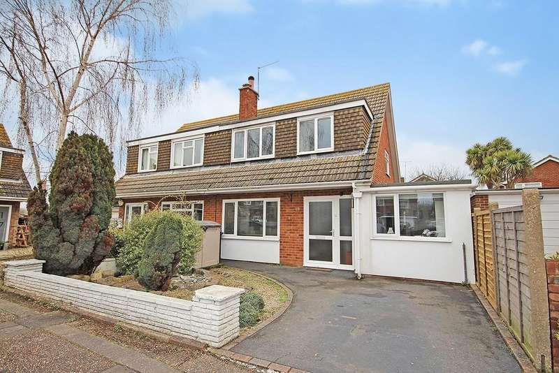 4 Bedrooms Semi Detached House for sale in Fittleworth Close, Goring-by-sea, Worthing BN12 6NB