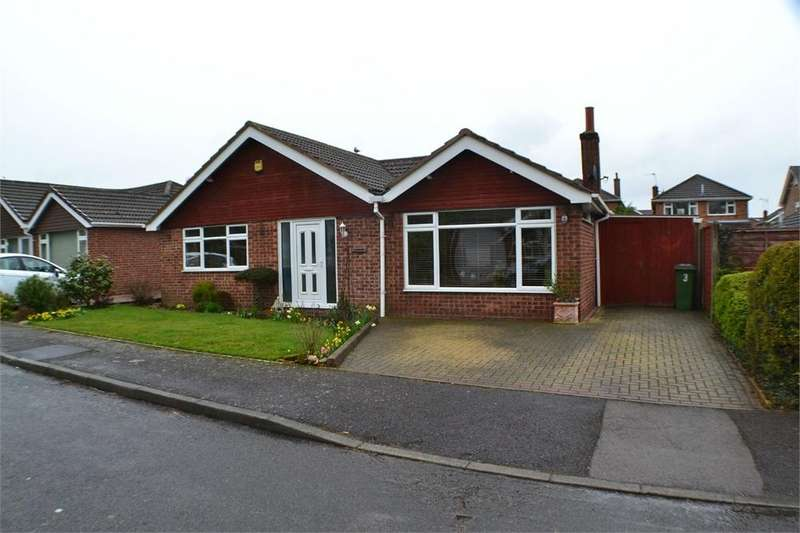 3 Bedrooms Detached Bungalow for sale in Buckinghams Way, Sharnford, Leicestershire