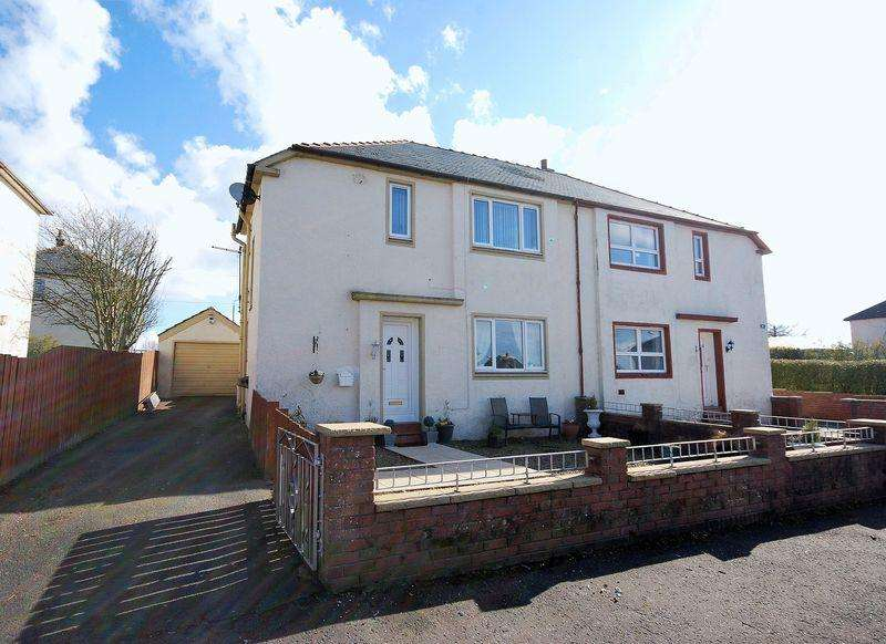 3 Bedrooms Semi-detached Villa House for sale in 22 Beechwood Road, Tarbolton, KA5 5RR