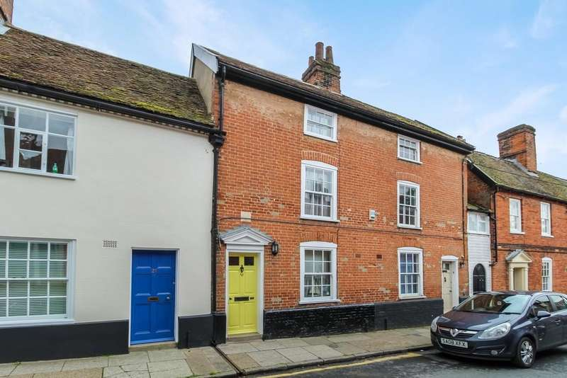 3 Bedrooms Town House for sale in Seckford Street, Woodbridge, Suffolk