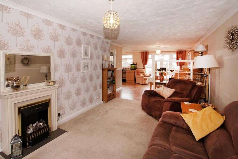 4 Bedrooms House for sale in Waits Close, Banwell, Weston-super-Mare