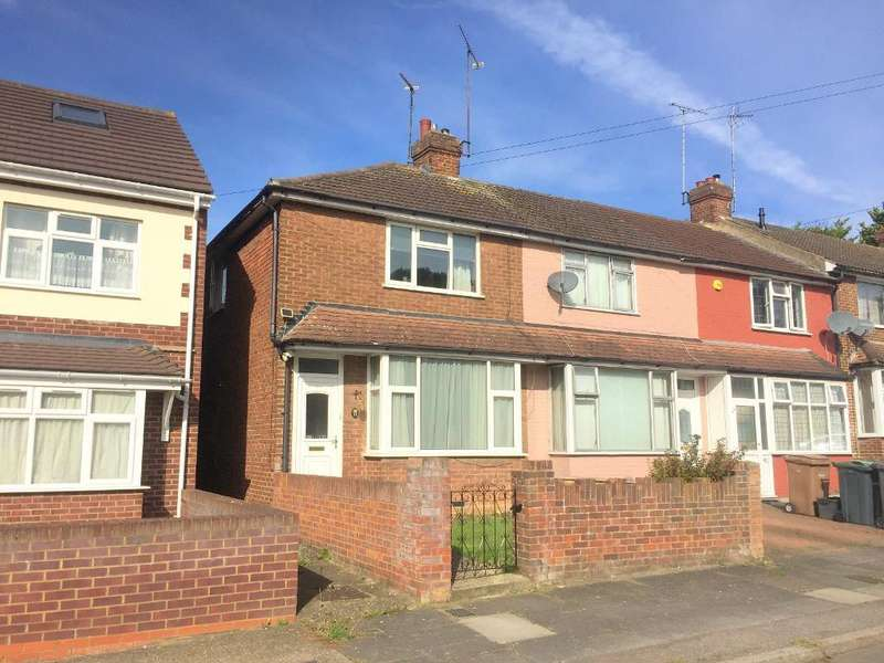 2 Bedrooms End Of Terrace House for sale in Anstee Road, Luton, LU4 9HH