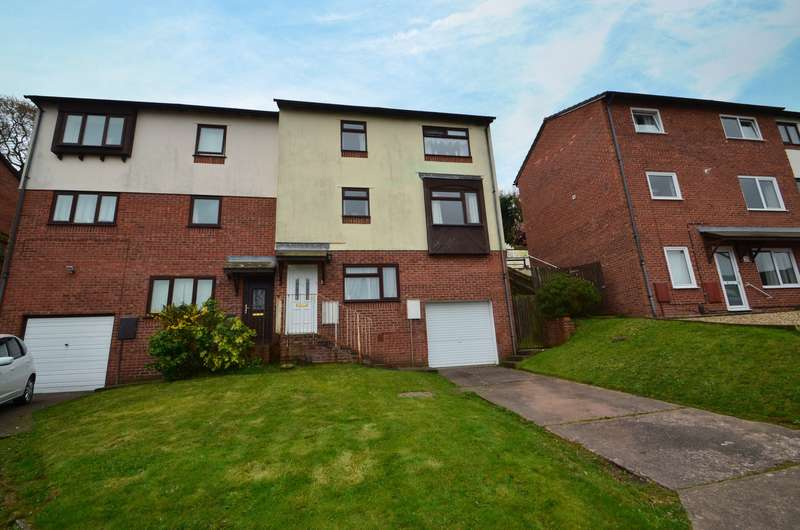 4 Bedrooms Semi Detached House for sale in Exwick, Exeter