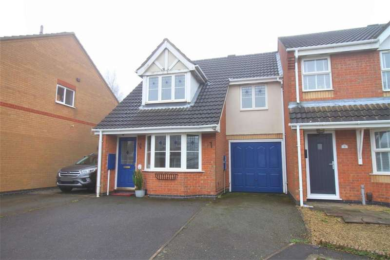 3 Bedrooms Detached House for sale in Lawrence Close, Ellistown