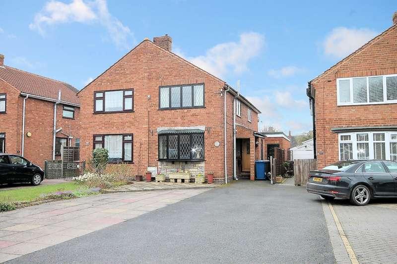 3 Bedrooms Semi Detached House for sale in Peel Close, Drayton Bassett, B78 3UE