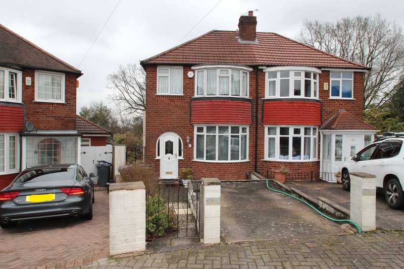 3 Bedrooms Semi Detached House for sale in Brookmans Avenue, Quinton