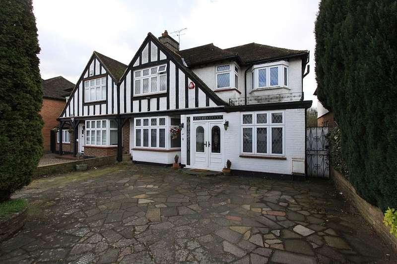 3 Bedrooms Semi Detached House for sale in Hillside Gardens, Edgware, London, HA8 8HB