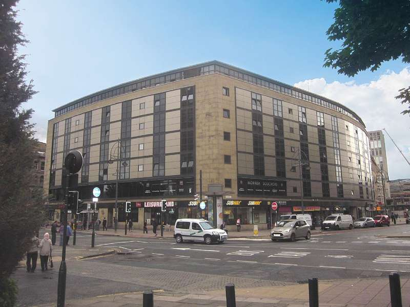 2 Bedrooms Apartment Flat for sale in Apartment 216, Landmark House, 11 Broadway, Bradford, West Yorkshire, BD1 1JB