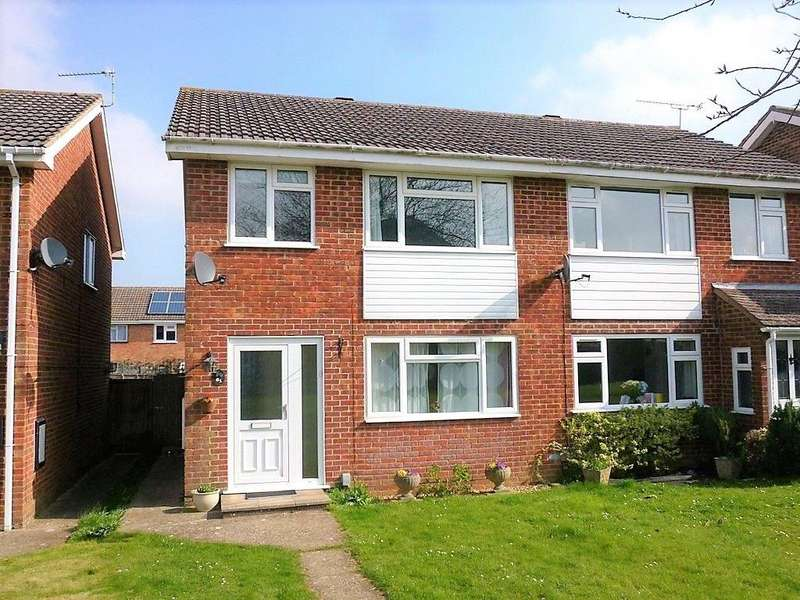 3 Bedrooms Semi Detached House for sale in Britten Road, Basingstoke, RG22