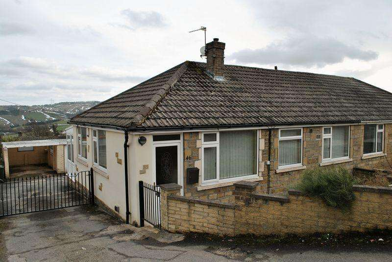 2 Bedrooms Semi Detached House for sale in Sapgate Lane, Thornton, Bradford BD13 3HB