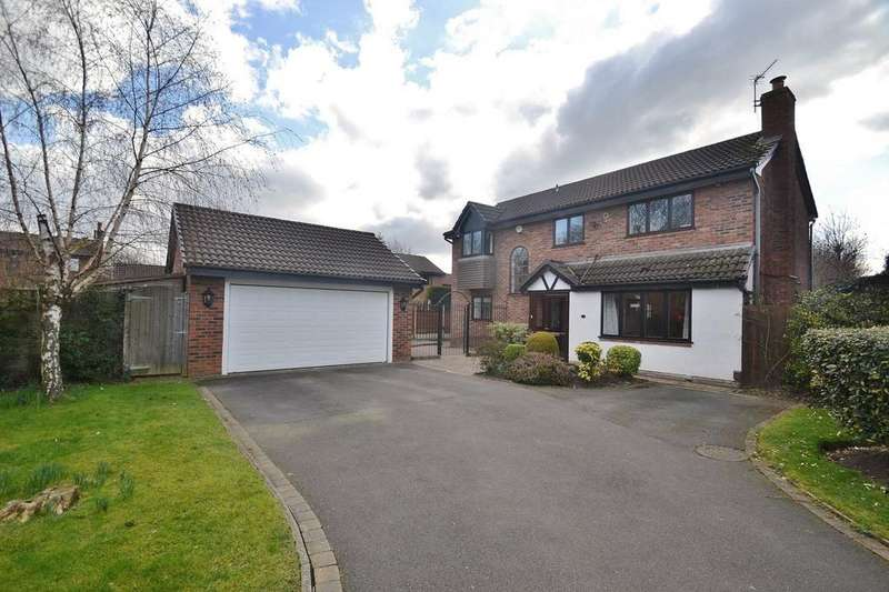 4 Bedrooms Detached House for sale in Maizefield Close, Sale,