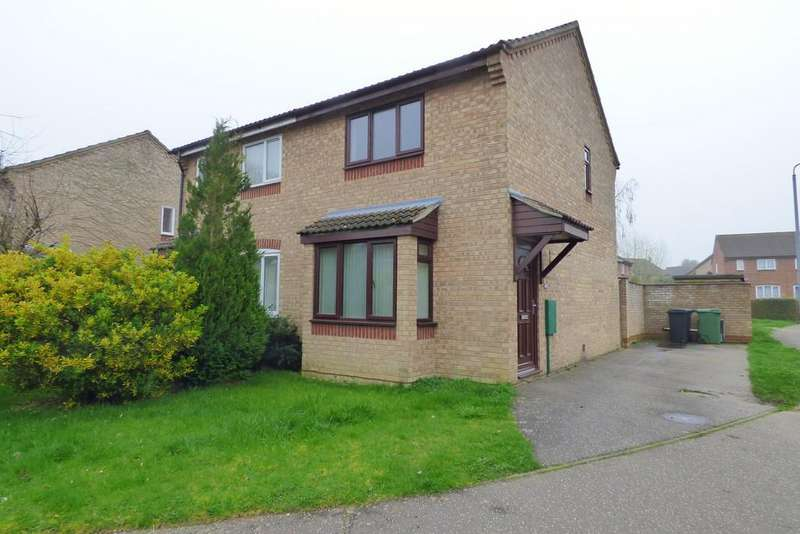 2 Bedrooms Semi Detached House for rent in Suffield Close, Tharston