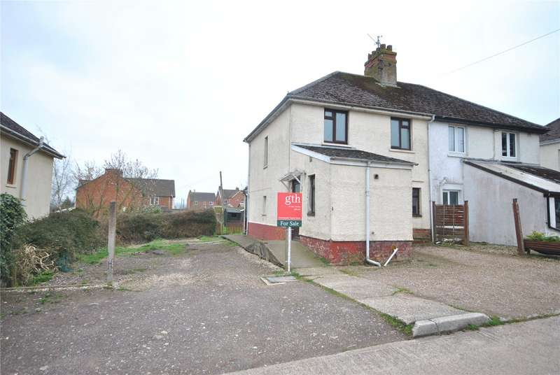 3 Bedrooms Semi Detached House for sale in Kents Cottages, South Chard, Chard, Somerset, TA20
