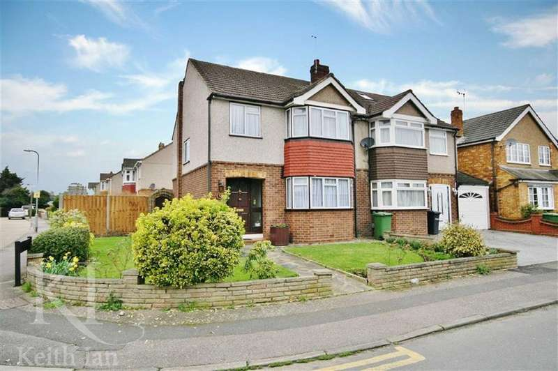 3 Bedrooms Semi Detached House for sale in Elgin Road, Cheshunt