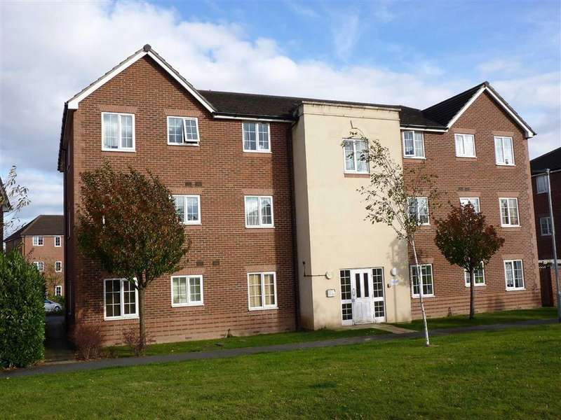 2 Bedrooms Flat for sale in Broomfield Walk, Hereford