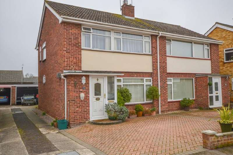 3 Bedrooms Semi Detached House for sale in Hunter Drive, Lawford, Manningtree