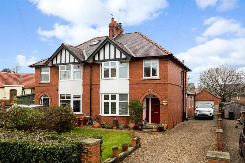 3 Bedrooms Semi Detached House for sale in Greengate Lane, Knaresborough