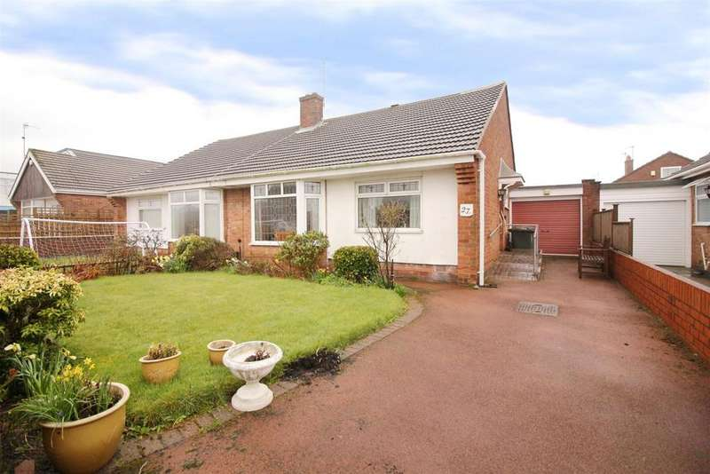 2 Bedrooms Semi Detached Bungalow for sale in Thirlmere Avenue, North Shields
