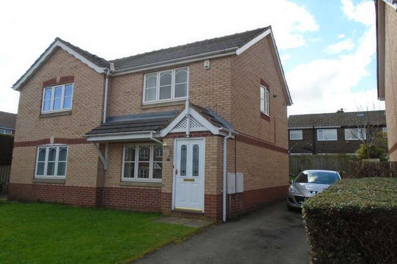 2 Bedrooms Semi Detached House for sale in Broadland Way, Lofthouse, Wakefield, WF3