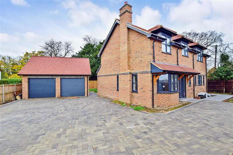 4 Bedrooms Detached House for sale in Grove Ferry Lane, Becketts Wood, Upstreet, Canterbury, Kent