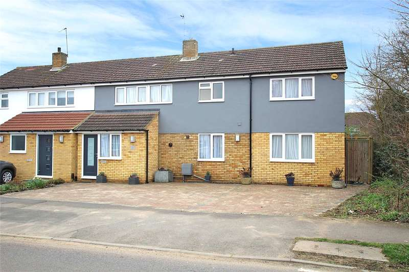 4 Bedrooms Semi Detached House for sale in Barnfield Road, St. Albans, Hertfordshire, AL4