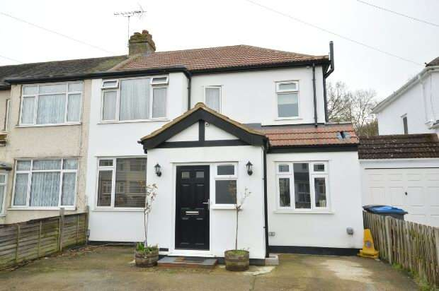 4 Bedrooms End Of Terrace House for sale in Rollesby Road, Chessington