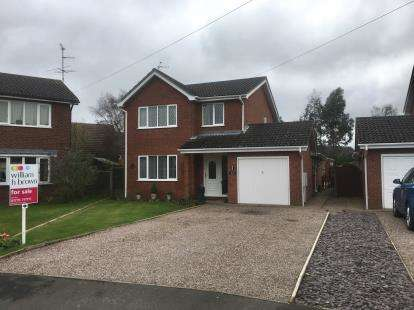 3 Bedrooms Detached House for sale in Meadway, Spalding, Lincolnshire, England