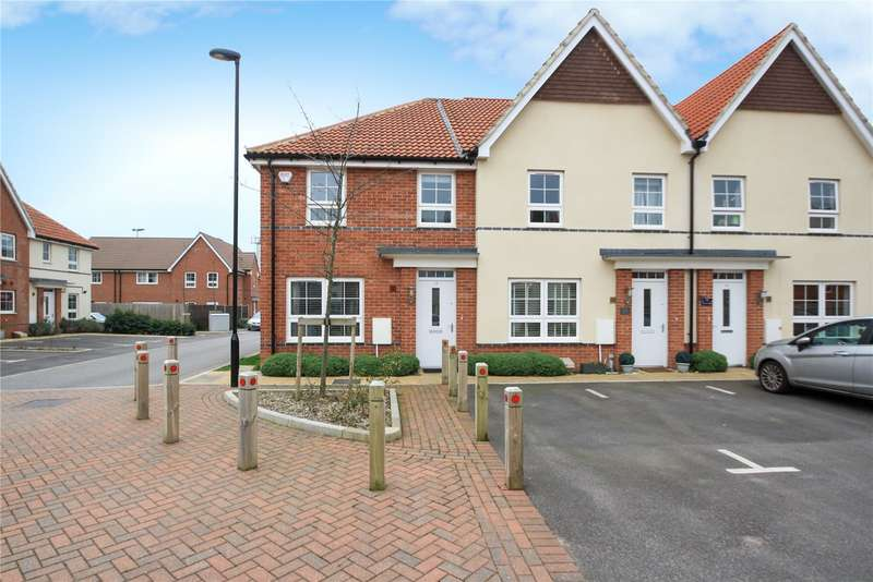 3 Bedrooms End Of Terrace House for sale in Puttick Drive, Worthing, West Sussex, BN13