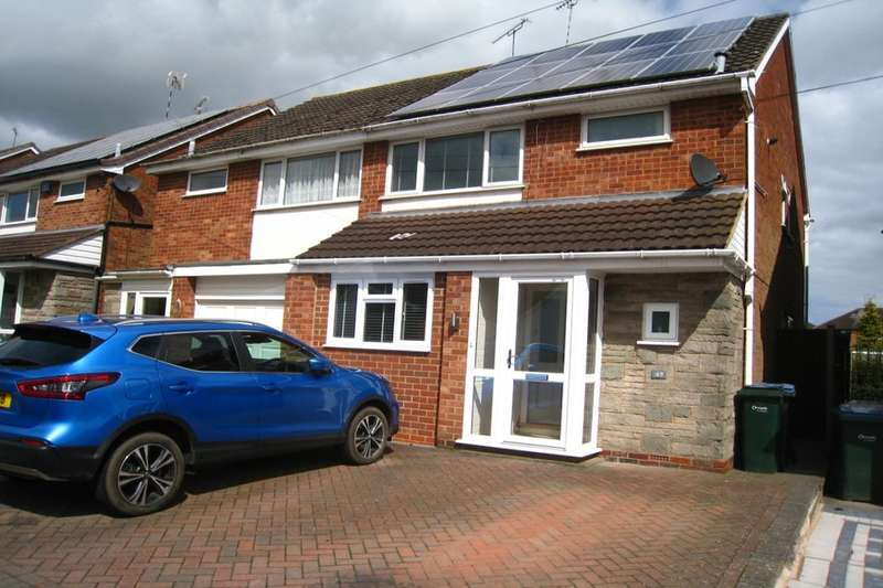 3 Bedrooms Semi Detached House for sale in Nova Croft, Eastern Green , Coventry, CV5