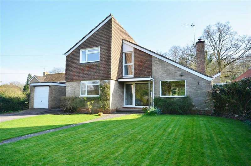4 Bedrooms Detached House for sale in The Street, Dockenfield, Farnham