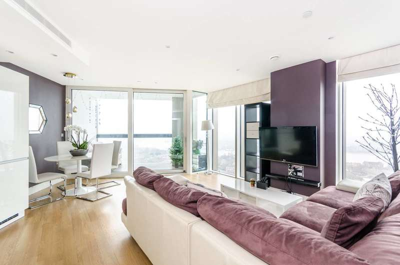 2 Bedrooms Flat for rent in Surrey Quays Road, Canada Water, SE16