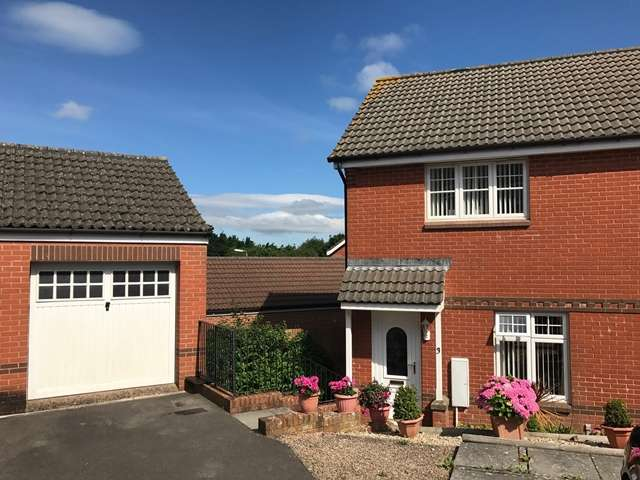 2 Bedrooms End Of Terrace House for sale in Biddington Way, Honiton