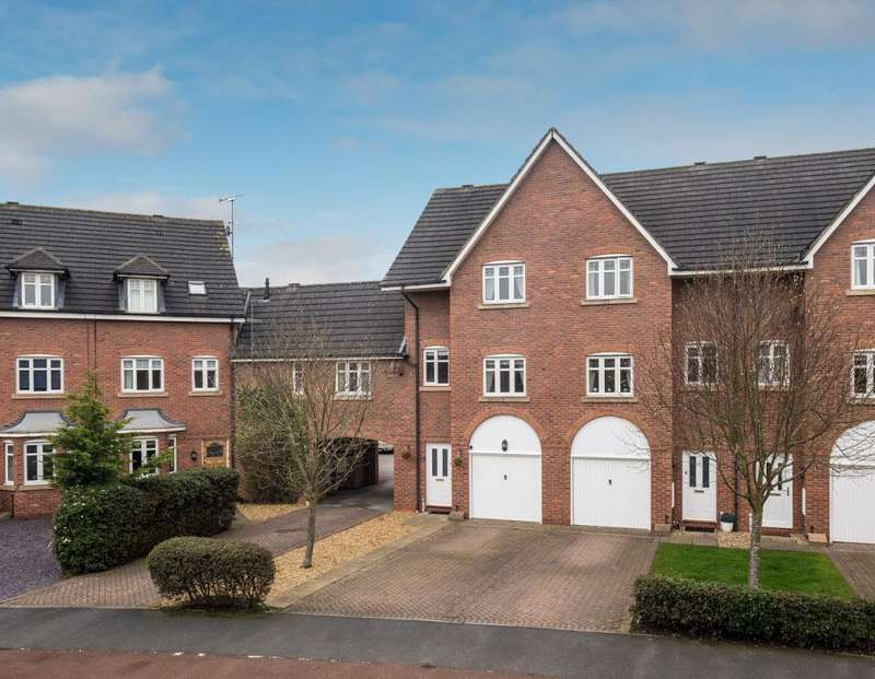 4 Bedrooms Terraced House for sale in OPEN HOUSE SATURDAY 21st April 2.00 - 3.00pm. Hawksey Drive, Nantwich