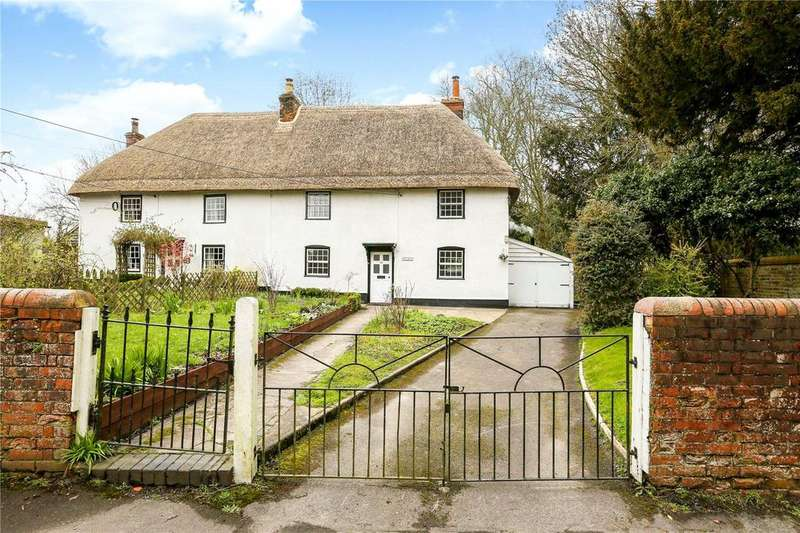 4 Bedrooms Semi Detached House for sale in The Street, Marden, Devizes, Wiltshire