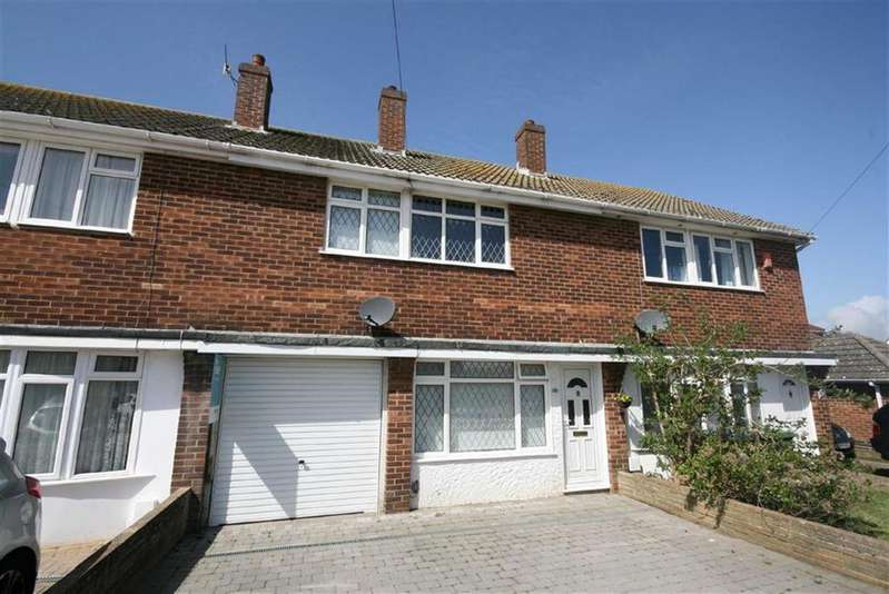 3 Bedrooms Terraced House for sale in Cavell Avenue North, Peacehaven