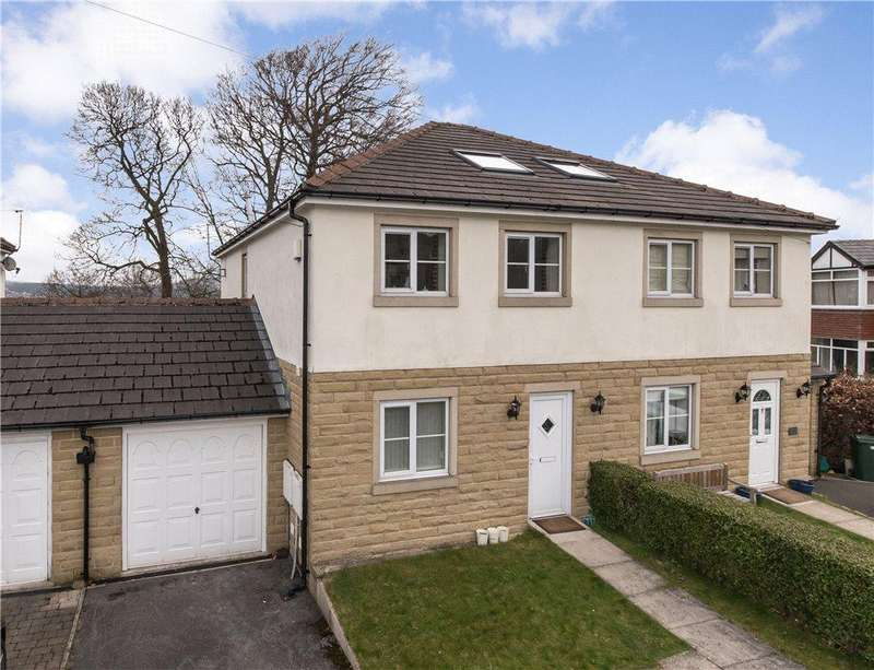 4 Bedrooms Semi Detached House for sale in Manor Drive, Cottingley, Bingley, West Yorkshire