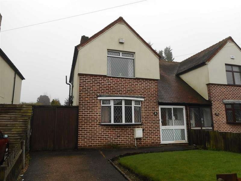 3 Bedrooms Semi Detached House for sale in Green Rock Lane, Walsall