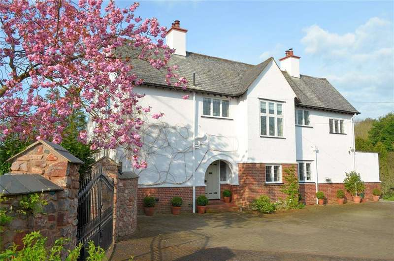 5 Bedrooms Detached House for sale in Cove, Tiverton, Devon, EX16