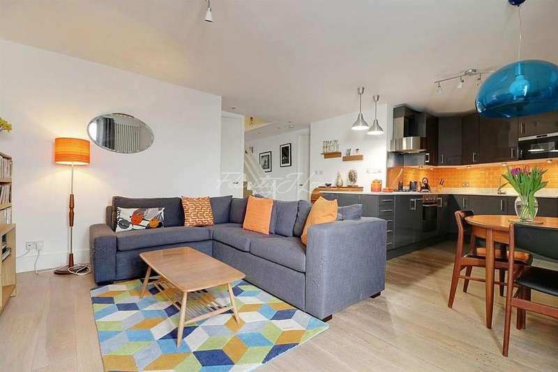3 Bedrooms Flat for sale in Wolsey Road, Islington, N1