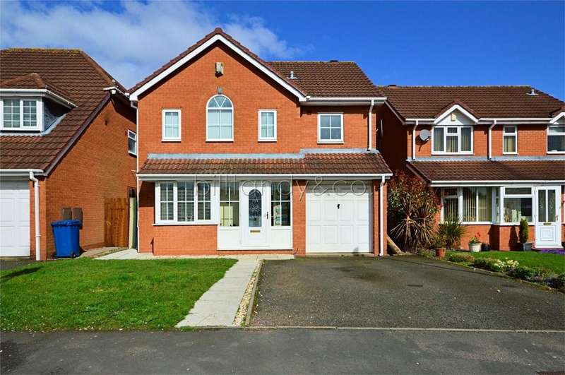 4 Bedrooms Detached House for sale in School Lane, Chase Terrace, Burntwood, Staffordshire