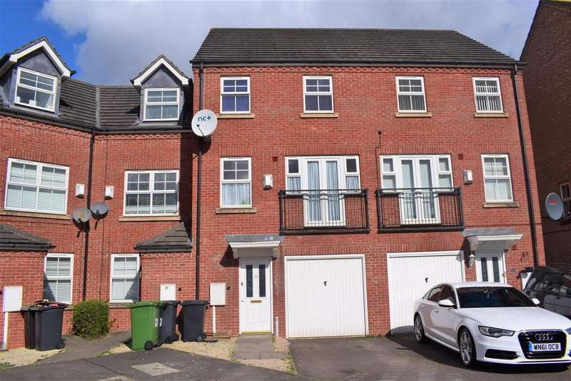 4 Bedrooms Terraced House for sale in Silken Court, Nuneaton